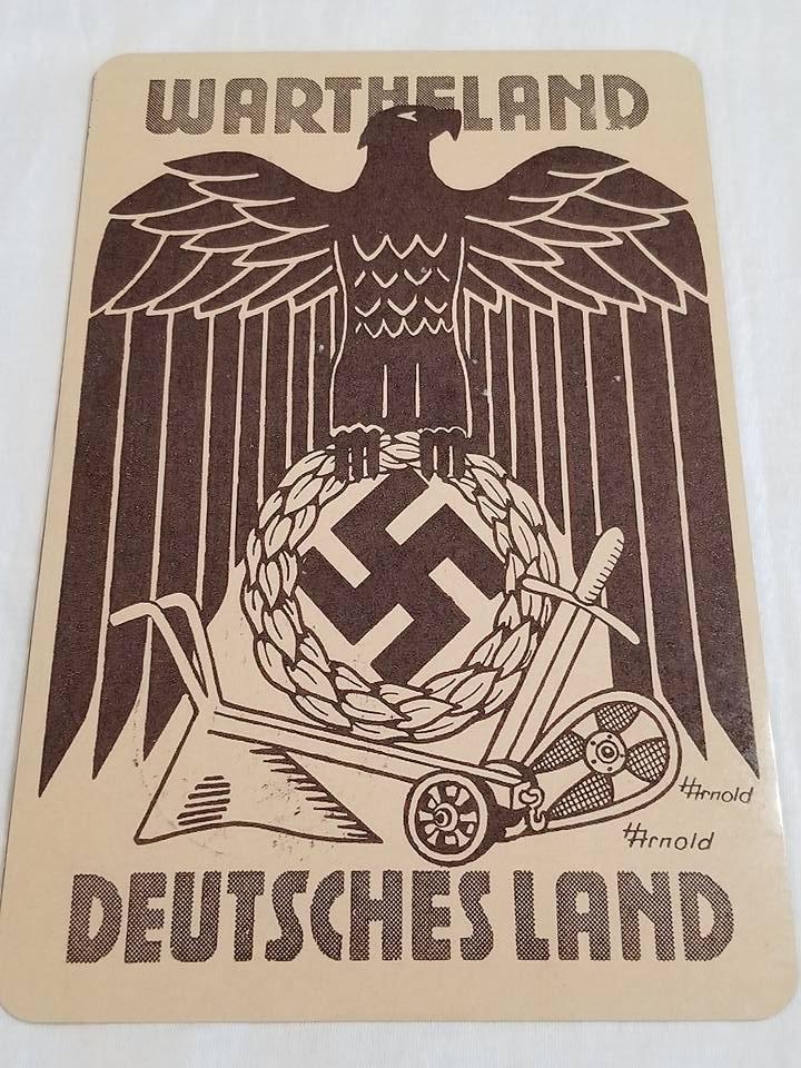 WWII WW2 Nazi German Waffen SS Bird Propaganda Metal sign