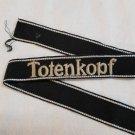 WWII Nazi German SS Totenkopf division cuff title