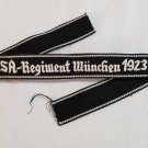 WWII WW2 Nazi German early SA Munchen 1923 cuff title
