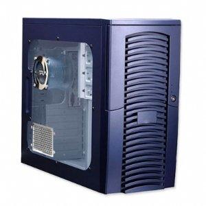 Ultra UV Wizard Blue ATX Mid-Tower Case