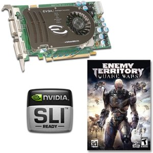 EVGA GeForce 8600 GTS Video Card - FREE Enemy Territory: Quake Wars PC Game