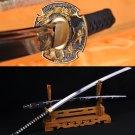 Japanese Katana Samurai dragon sword high carbon steel full tang blade - Free Shipping