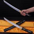 Samurai Short Sword Japanese Tanto Handmade Sharp Blade 1060 High Carbon Steel - Free Shipping