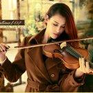 Italy Christina Violin beginner Maple Antique matt High-grade Handmade acoustic