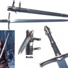 "RANGER ARAGORN SWORD OF STRIDER W/ SCABBARD KNIFE 52"" LORD OF THE RINGS MOVIE"
