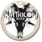 SATYRICON band button! (25mm, badges,pins, heavy metal, black metal)