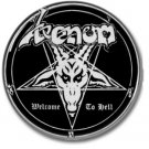 VENOM band button! (25mm, badges,pins, heavy metal, black metal)