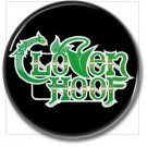 CLOVEN HOOF band button! (1inch, 25mm, badges,pins,heavy metal)