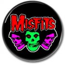 MISFITS band button! (25mm, punk, badges, buttons)