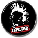 EXPLOITED band button! (25mm, punk, badges, buttons)