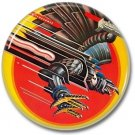 JUDAS PRIEST  band button! (1inch, 25mm, badges,pins,heavy metal)