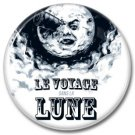 Le Voyage Dans La Lune / Trip To The Moon button  (badges, pins, George Melies)