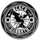 BLACK SABBATH band button! (25mm, badges, pins, heavy metal, doom metal)