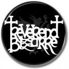 Reverend Bizarre band button! (25mm, badges, pins, heavy metal, doom metal)