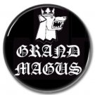 Grand Magus band button! (25mm, badges, pins, heavy metal, doom metal)