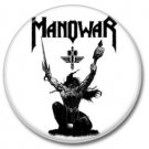 MANOWAR band button! (1inch, 25mm, badges,pins, heavymetal)