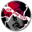 NEW BOMB TURKS band button! (25mm, punk, badges, buttons)