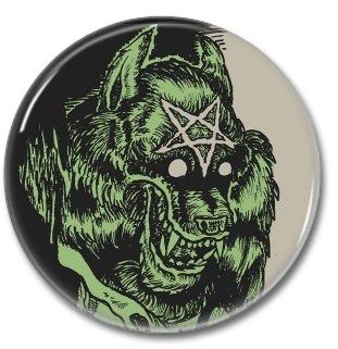 Warewolf button  (1.22 inch, 31mm, badges, pins, horror)