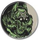 Warewolf button  (1inch, 25mm, badges, pins, horror)