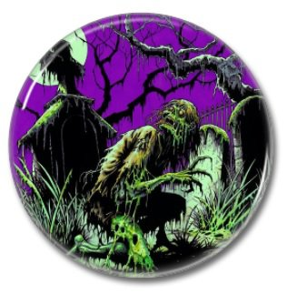Undead button (1.22 inch, 31mm, badges, pins, horror)