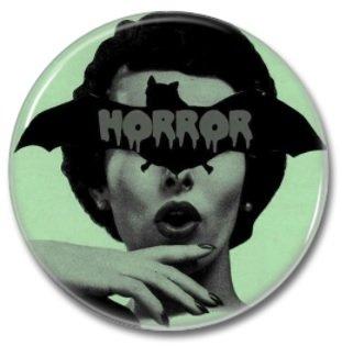 Horror Bat (1.22 inch, 31mm, badges, pins, horror)