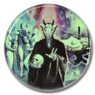 Occult Ceremony (1inch, 25mm, badges, pins, horror)