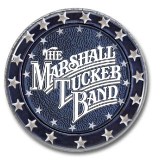 THE MARSHALL TUCKER BAND button! (25mm, badges, pins, heavy metal, southern rock)