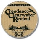 CREEDENCE CLEARWATER REVIVAL button! (25mm, badges, pins, heavy metal, southern rock)