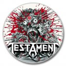 TESTAMENT band button! (25mm, badges, pins, heavy metal, thrash metal)