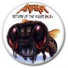 ANTHRAX band button! (25mm, badges, pins, heavy metal, thrash metal)