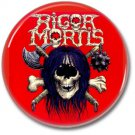RIGOR MORTIS band button! (25mm, badges, pins, heavy metal, thrash metal)