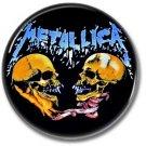 METALLICA band button! (25mm, badges, pins, heavy metal, thrash metal)