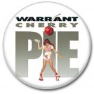 WARRANT band button! (25mm, badges, pins, heavy metal, hair metal)