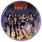 KISS band button! (25mm, badges, pins, heavy metal, hair metal)