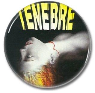 Dario Argento Tenebre (25mm, badges, pins, horror)