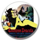 Hammer Films: Countess Dracula button (31mm, badges, pins, horror)