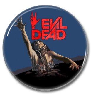EVIL DEAD (25mm, badges, pins, horror)