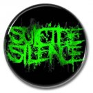 SUICIDE SILENCE band button! (25mm, badges, pins, heavy metal, metalcore, deathcore)