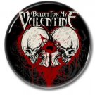 BULLET FOR MY VALENTINE band button! (25mm, badges, pins, heavy metal, metalcore, deathcore)