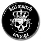 Killswitch Engage band button! (25mm, badges, pins, heavy metal, metalcore, deathcore)
