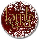 Lamp Of God band button! (25mm, badges, pins, heavy metal, metalcore, deathcore)