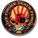 Five Finger Death Punch band button! (25mm, badges, pins, heavy metal, metalcore, deathcore)