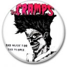 The Cramps button! (25mm, badges, pins, rockabilly, psychobilly)
