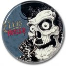 ELVIS HITLER band button! (25mm, badges, pins, rockabilly, psychobilly)