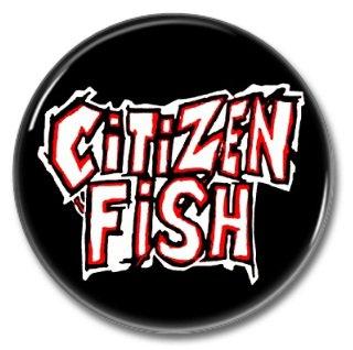 Citizen Fish band button! (25mm, badges, pins, ska, punk)