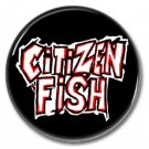 Citizen Fish band button! (25mm, badges, pins, ska, punk)