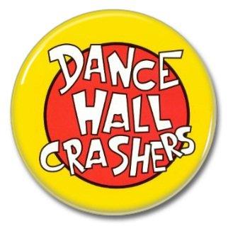 Dance Hall Crashers band button! (25mm, badges, pins, ska, punk)