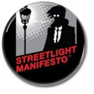 Streetlight Manifesto band button! (25mm, badges, pins, ska, punk)