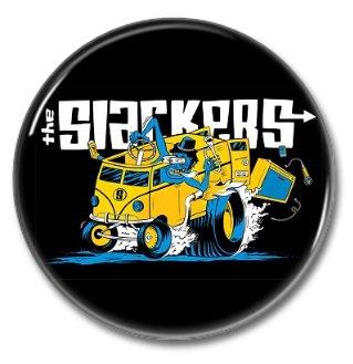 the Slackers band button! (25mm, badges, pins, ska, punk)