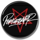 PERTURBATOR band button (badges, pins, synthwave)